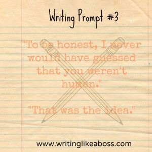 Writing Prompt #3