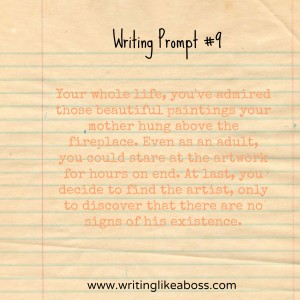 Writing Prompt #9