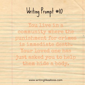 Writing Prompt #10
