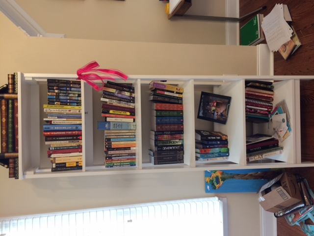 Pull All The Books Off Shelf Yes Really I Wont Just Knock Them Onto Floor However As Take Ill Put Into Color Coded
