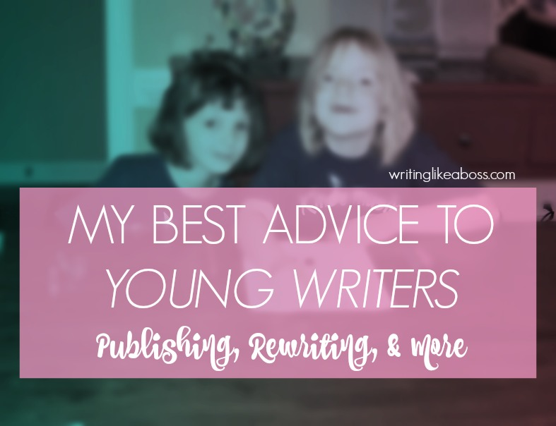 writing tips for young authors