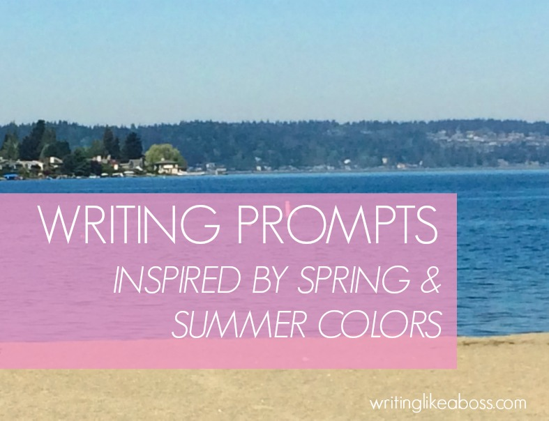 Writing Prompts Inspired by Spring & Summer Colors